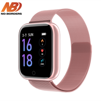 T80 IWO Fashion Waterproof Smart Watch Bluetooth Smartwatch For Apple IPhone Xiaomi Heart Rate Monitor Fitness Tracker