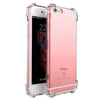 Transparent Silicone Original Luxury Case for Apple IPhone11 Pro Max 7 8 6 6S Plus XR X XS MAX 5 5S Back Cover Shockproof Case image