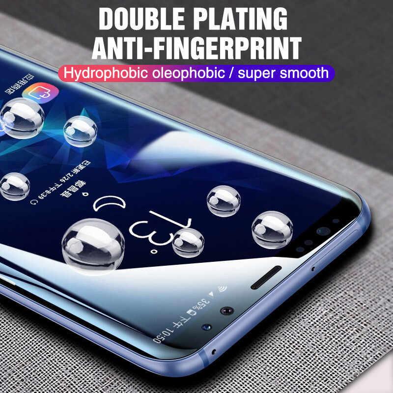 800D Full Cover Hydrogel Cho Samsung Galaxy S8 S10e S9 Tấm Bảo Vệ Màn Hình Cho Note 8 9 10 Pro S8 s9 S10 Plus Bộ Phim Không Kính