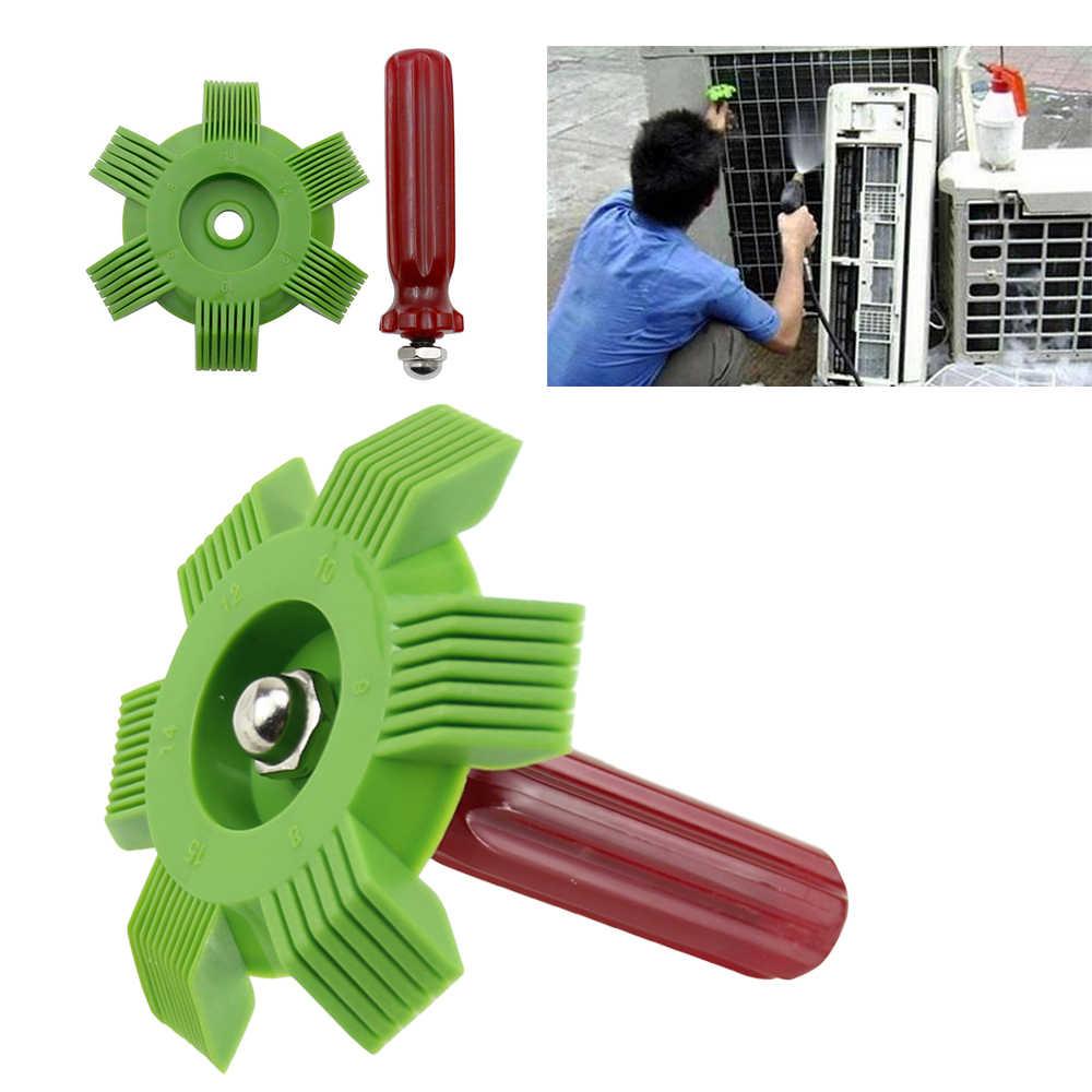 Tragbare Auto A/C Kühler Kondensator Fin Kamm Klimaanlage Spule Haarglätter Reinigung Werkzeug Auto Kühlsystem Reparatur Werkzeuge