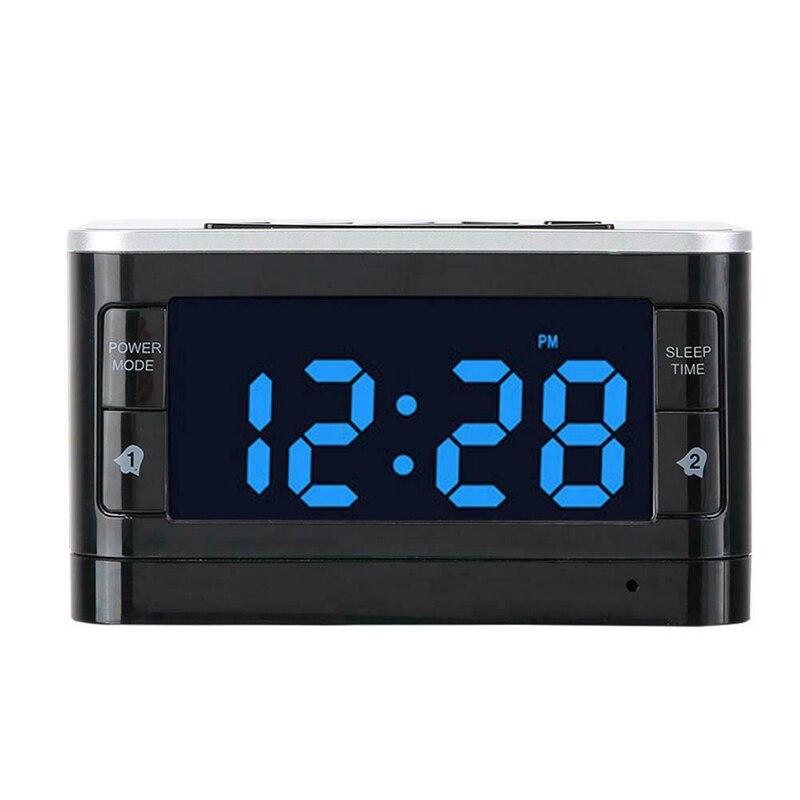 T8 Bluetooth haut-parleur SNOOZE réveil Radio FM avec chargeur sans fil USB OTG Port télécommande pour IPhone Samsung
