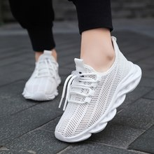 Summer Kids Running Shoes Air Mesh Children Sneakers Lightweight Boys Casual Walking Shoes White Breathable Girls Tenis Sneakers