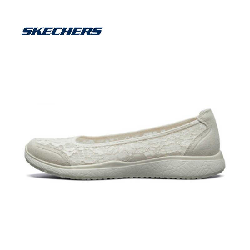 Skechers Women Shoes Flat Comfortable