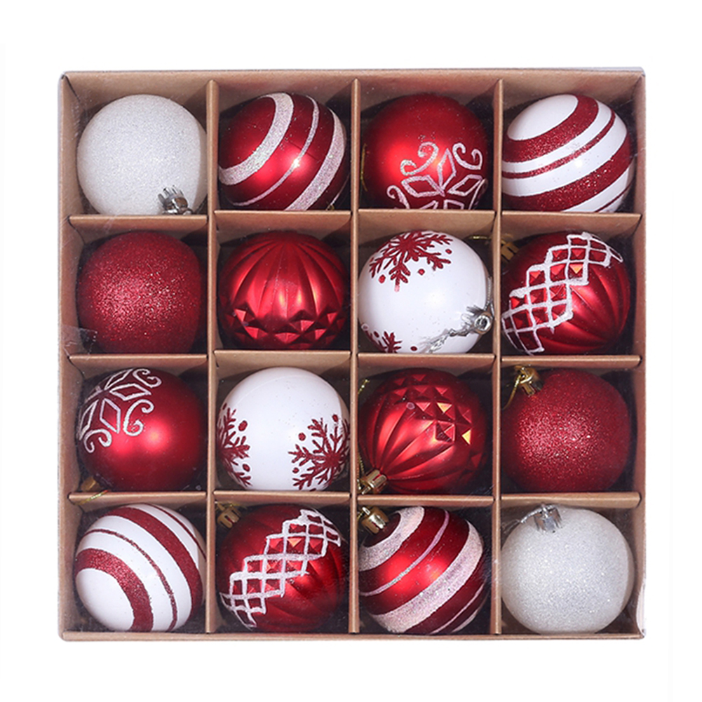 16 x Christmas Tree Baubles 15