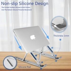 Image 5 - Einstellbare Notebook 1/2PC Ständer Tragbare Halter Faltbare Laptop Tablet Ständer Computer Unterstützung Für MacBook Air Pro ipad für dell