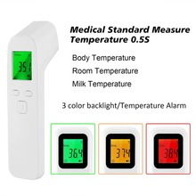 New Infrared Thermometer IR Non-Contact Digital Forehead Ear Fever Electronic Laser Body Temperature For Baby Adult Home Outdoor