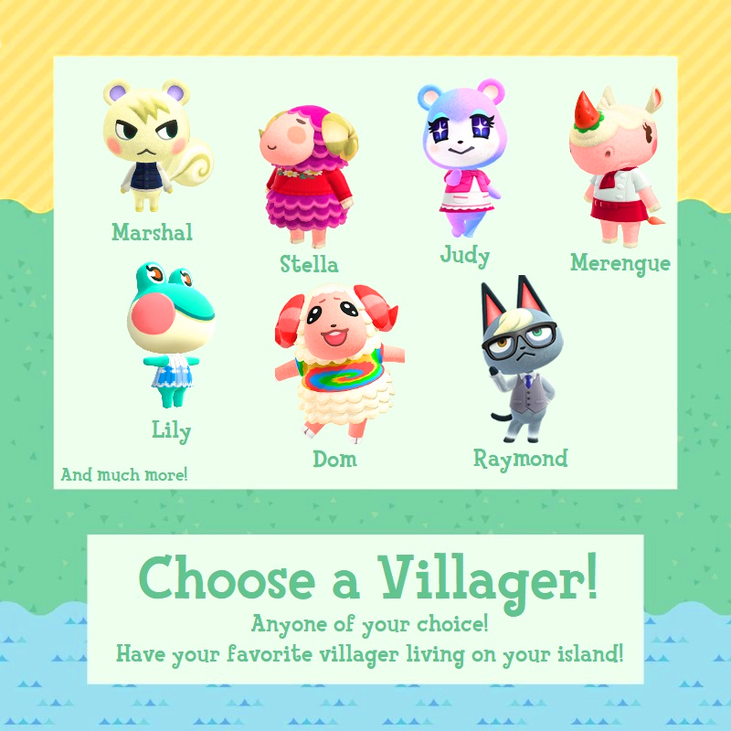 Not Amiibo Card Animal Crossing Villager Move in Raymond Zucker Stitches Material Gift Animal Crossing Villager Judy Laura Bells