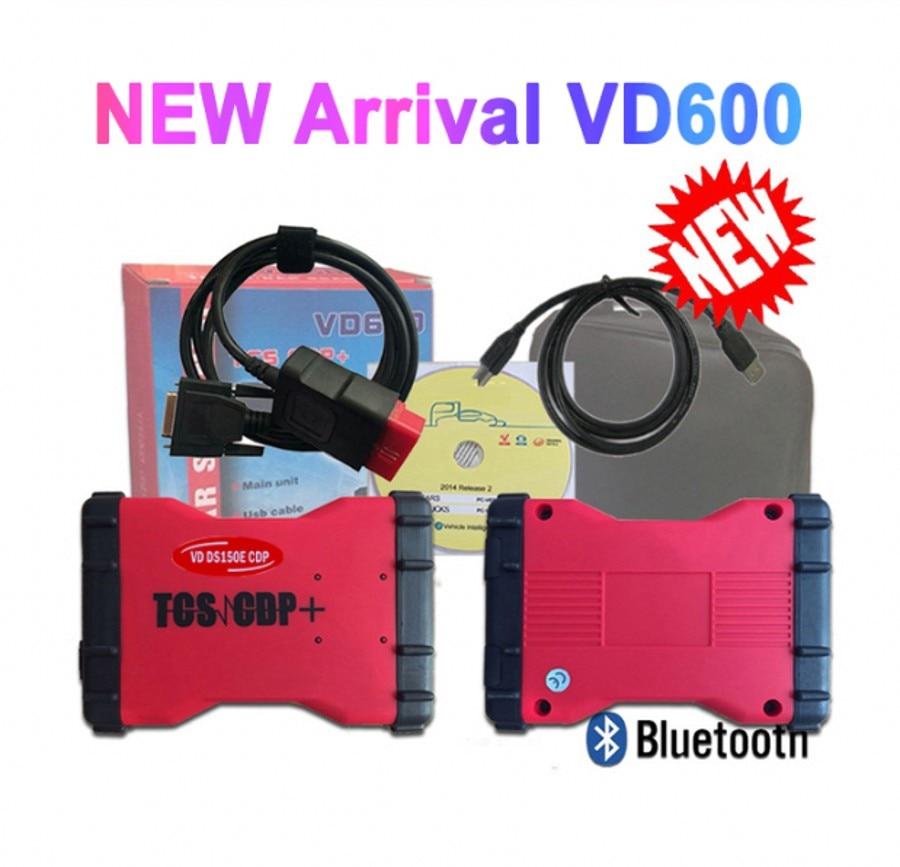 2020 NEW VD600 vd tcs cdp Bluetooth 2016R0 keygen vd ds150e cdp for delphis obd2 diagnostic repair tool 3in1 Scanner|Car Diagnostic Cables & Connectors| |  - title=