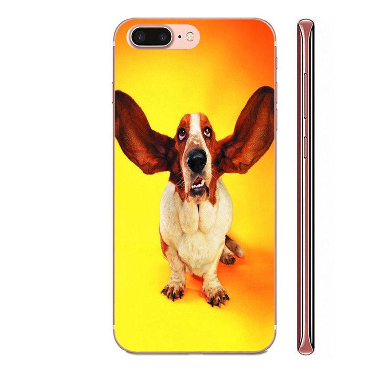 Basset Hound Dog Puppy For Huawei Mate 9 10 20 P P8 P9 P10 P20 P30 P40 Lite Pro Smart 2017 Soft Skin Painting