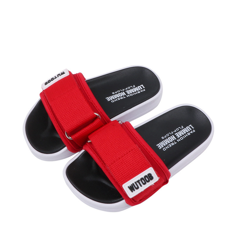 Children Slippers Boys Girls Summer Sandals Beach Non-slip Children Shoes Flat Fashion Open Toe Big Kid Fisherman Sandal