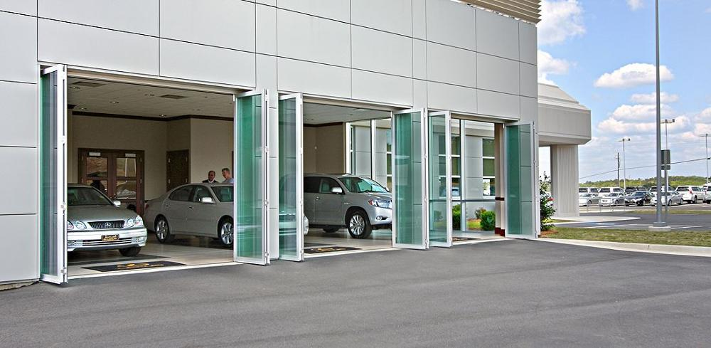 Hench China Wooden Aluminum Doors Windows  Bi-folding Doors Wholesale Factory Hc-a19