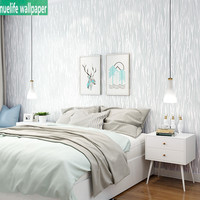 Simple modern style plain vertical stripes yarn wallpaper non woven bedroom living room study office background wall paper
