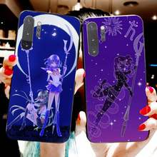 Sailor Saturn Moon Zachte Siliconen Tpu Telefoon Cover Voor Samsung Note 7 8 9 10 Pro Galaxy J7 J8 J6 plus 2018 Prime(China)