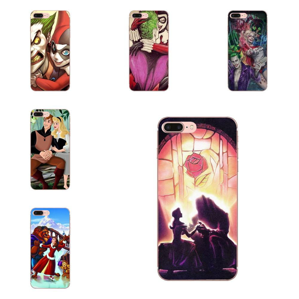 Joker Beauty And <font><b>Bff</b></font> Best Friends Soft Cover <font><b>Case</b></font> For Apple <font><b>iPhone</b></font> 4 4S 5 5C 5S <font><b>SE</b></font> 6 6S 7 8 Plus X XS Max XR image
