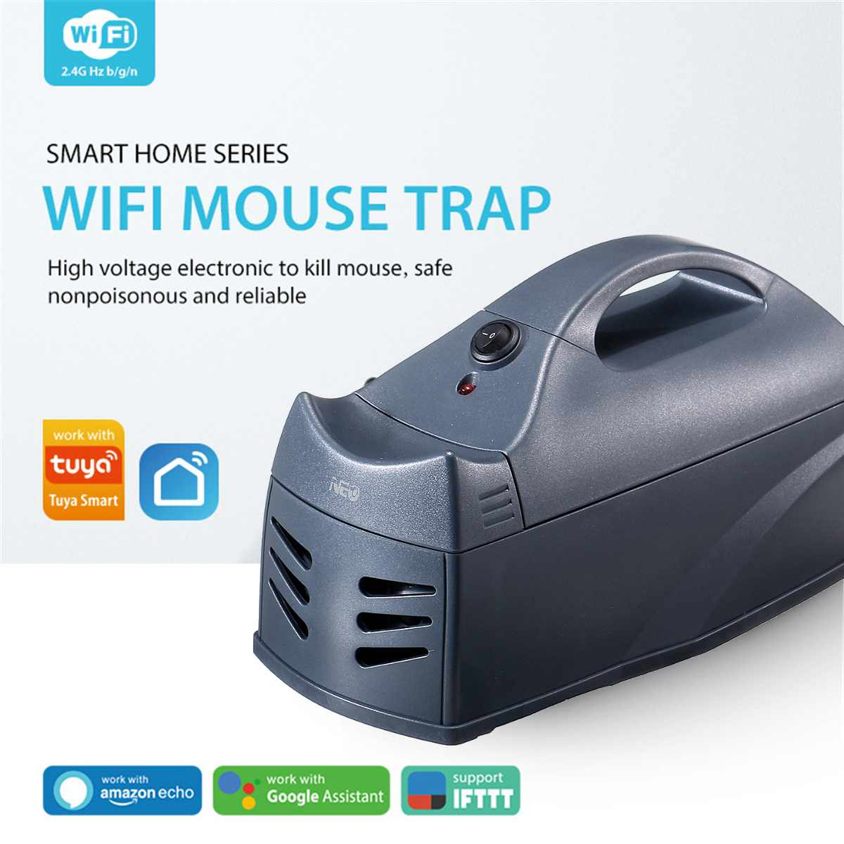 Wireless NEO Mouse Killer Mousetrap Rat Pest Trap Catcher Rodent Killer WiFi Sensor APP Control For Mobile Phone 222X112X120mm