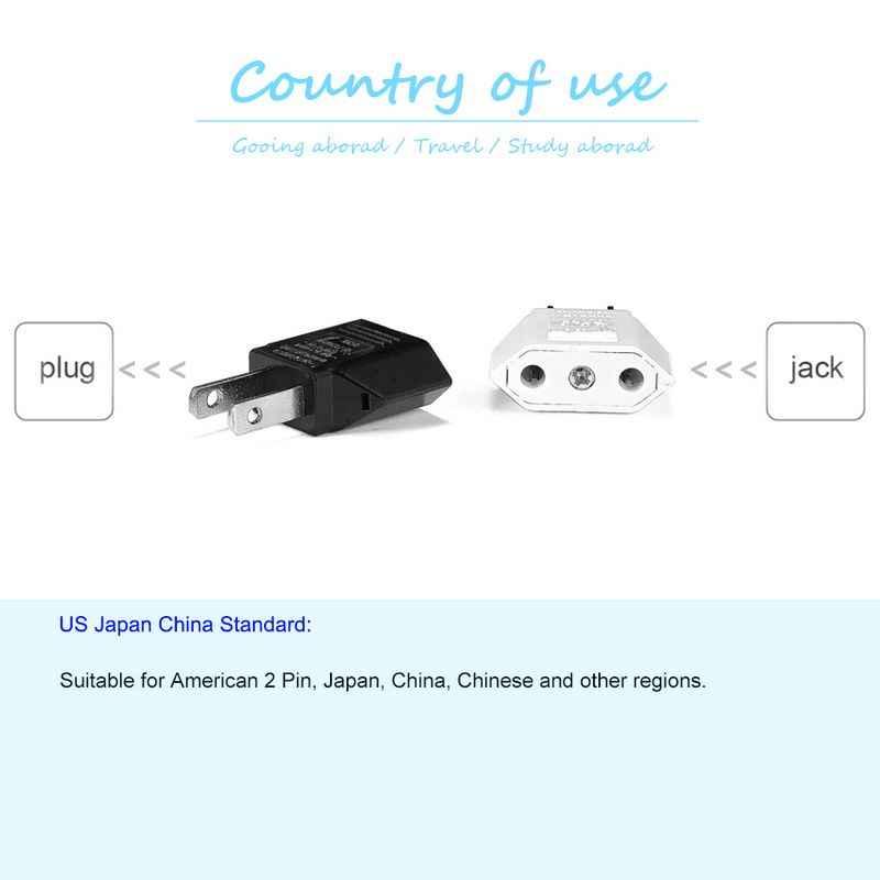 Ons Japan China Travel Plug Adapter Europese Eu Us Jp Power Adapter Stekker Converter Sockets Ac Charger Outlet