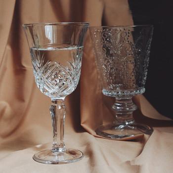CuteLife ulgę w stylu Vintage kawy kieliszek do whisky szklanki przezroczyste koktajl piwo szkło ślubne kryształ czara prezenty sok kieliszki do wina tanie i dobre opinie ROUND Grawerowanie KC20Q005