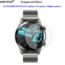 For HUAWEI WATCH GT 2 GT2 46mm / Elegant 42mm Sports Smart Watch Tempered Glass 9H 2.5D Premium