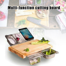 Get more info on the Multifunction Bamboo Cutting Board Kitchen Tool with Detachable Storage Box TT-best