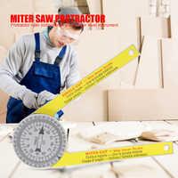 505p-7 Calibration Miter Saw Protractor Finder Angle Finder Miter Gauge Goniometer Angle Finder Arm Measuring Ruler