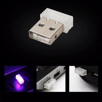 Car Led Atmosphere Light Cigarette Lighter Decorative Light Free Modification Atmosphere Light Car Indoor Vehicle Night Light image