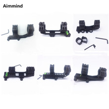 Tactical HeavyDuty Dual Ring 25.4mm 1inch / 30mm Quick Release Cantilever Weaver Forward Reach Scope Mount QD Cam Locks tactical heavyduty dual ring 25 4mm 1inch 30mm quick release cantilever weaver forward reach scope mount qd cam locks