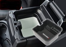Carro caixa de armazenamento central porta luva braço caixa organizador para land rover discovery 4 2014 2015 2016 acessórios do carro estilo