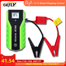 GKFLY High Power 20000mAh Car Jump Starter 1000A 12V Starting Device Power Bank Car Charger For Car Battery Booster Buster LED