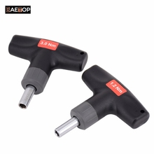 """0.6-6Nm T-Handle Preset Torque Wrench Screwdriver Compatible with Standard 1/4"""" Hex Bits 1.2Nm 1.6Nm 2Nm 3Nm 4Nm 5Nm Torque Tool"""