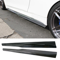 PS M Style Carbon fiber Side skirts 1Pair Fit For BMW F82 F83 M4