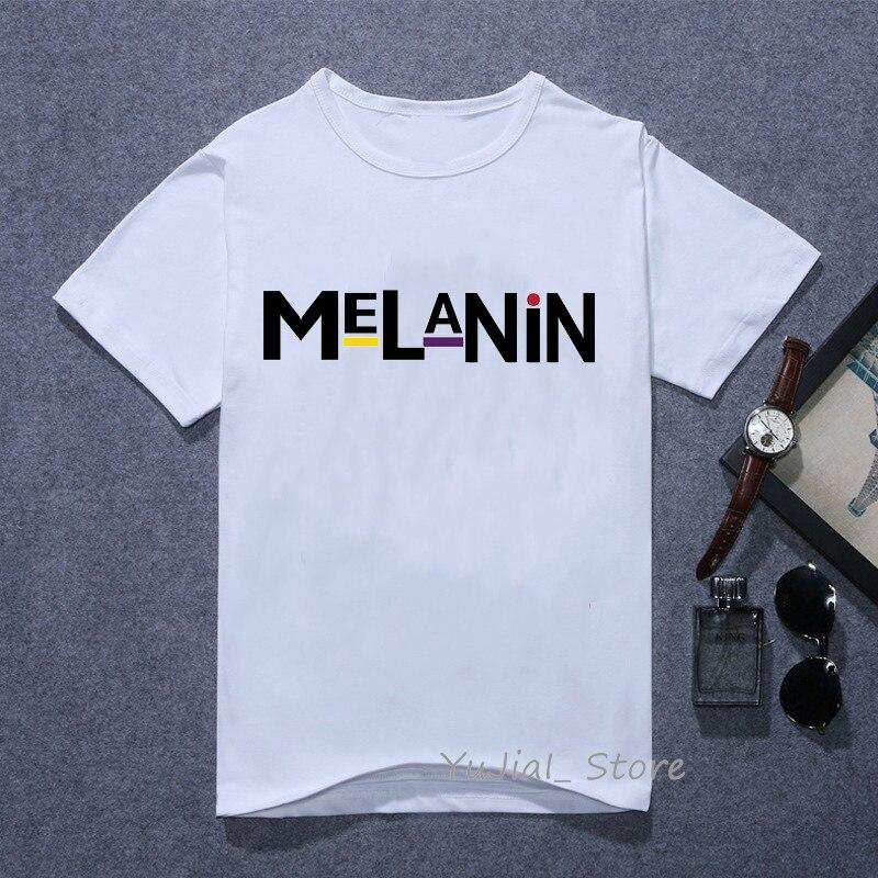 The melanin bunch Funny graphic t shirts women vogue Urban black girl print tee shirt 90s best friends tshirt female t-shirt 2