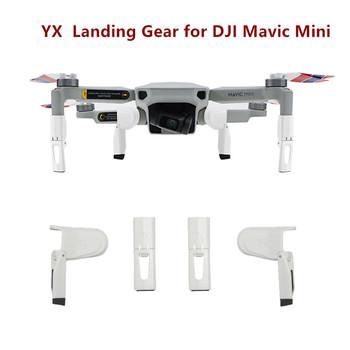Zestaw do lądowania absorbującego wstrząsy dla DJI Mavic Mini 2 akcesoria do dronów składane nogi przedłużające akcesoria ochronne dla Mini tanie i dobre opinie SUNNYLIFE CN (pochodzenie) 12 4g Landing Gear