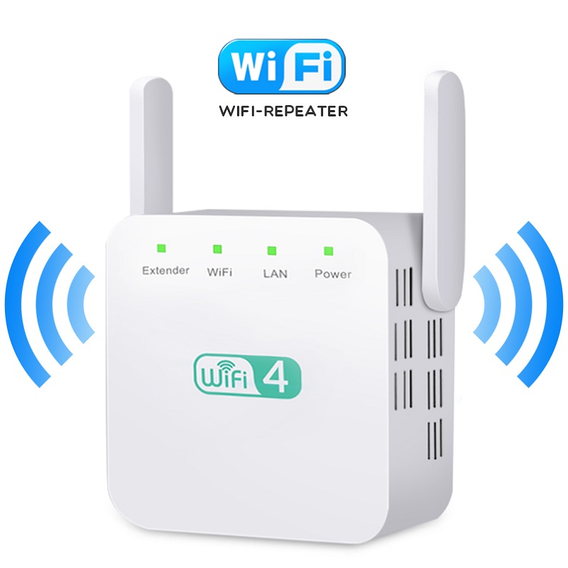 Wireless WiFi Repeater WiFi Amplifier Signal 300Mbps WiFi Booster 802.11N Wi-Fi Amplifier Long Range Wi Fi Extender Access Point