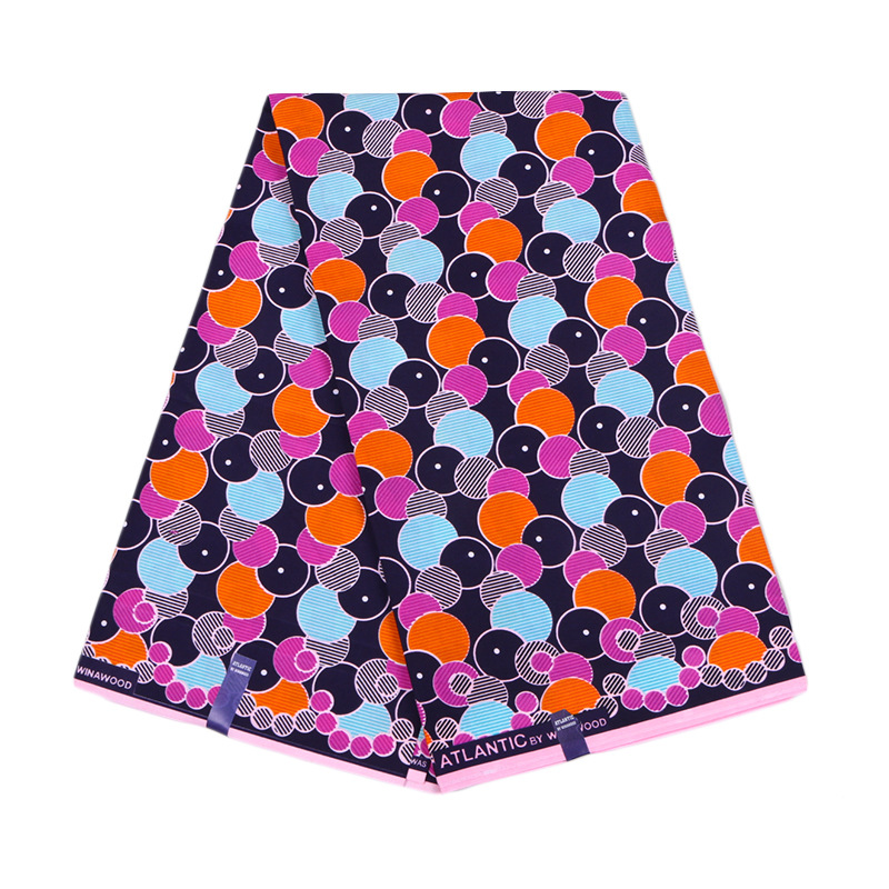 2019 Latest Arrivals African Dutch Wax High Quality Guaranteed Veritable  Wax Colourful Printed Fabric