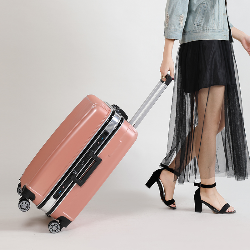 Luggage Fashion Newe Women Men Travel Bussiness Spinner Rolling Luggages Carry On 20/24 Inch Trolley Box Suitcase Luggage