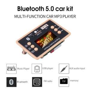 Image 4 - Kebidu 5V כדי 12V אלחוטי Bluetooth 5.0 MP3 מפענח לוח מודול AC6926 שבבים FM רדיו מודול MP3 FLAC WMA WAV עבור לרכב