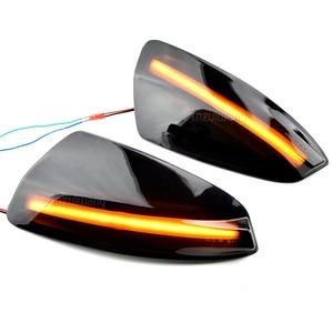 Image 5 - LED yan ayna dinamik dönüş sinyali flaşör işık için mercedes benz W204 W164 ML300 ML500 ML550 ML320 dikiz ayna lambası