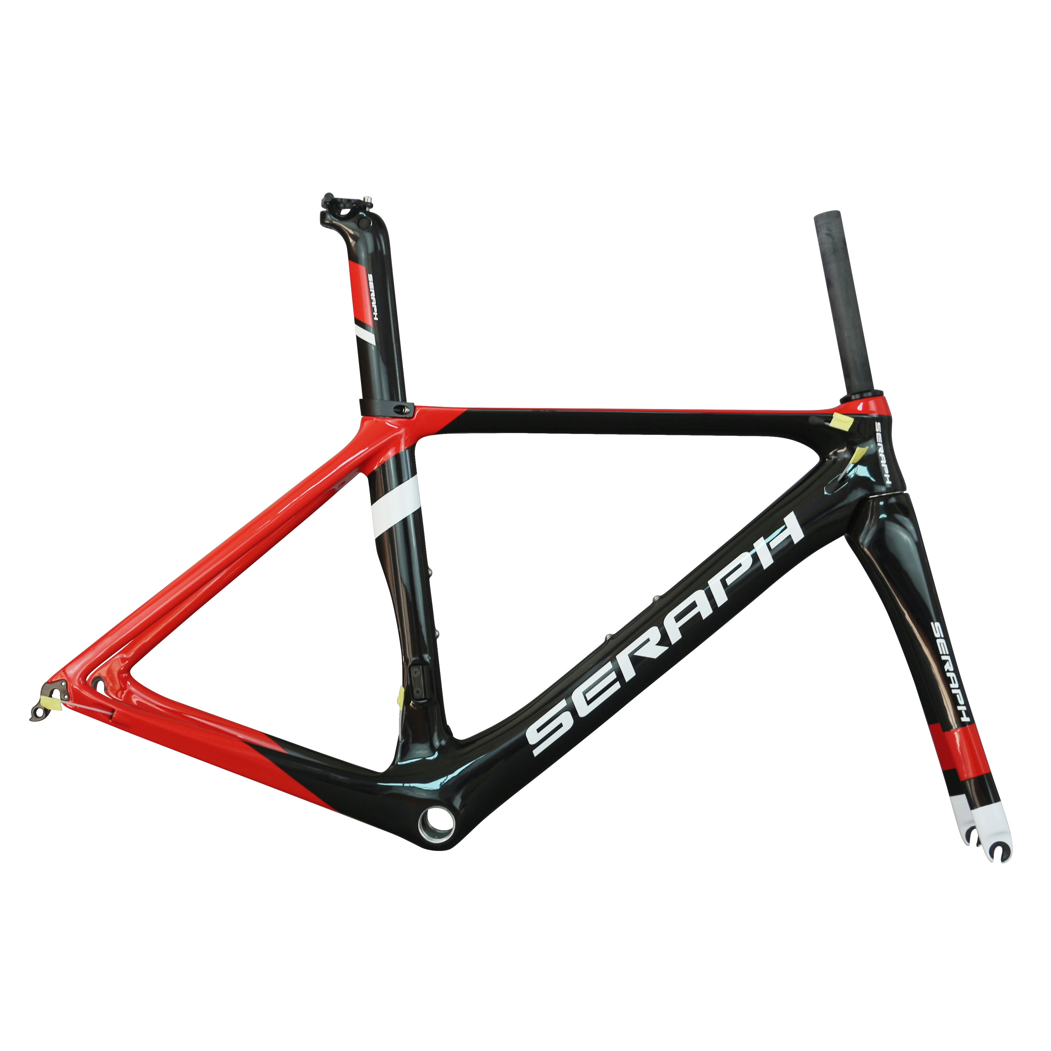 Customized SERAPH Carbon Fiber T700 Frame BB86 Glossy Carbon Road Frame FM268