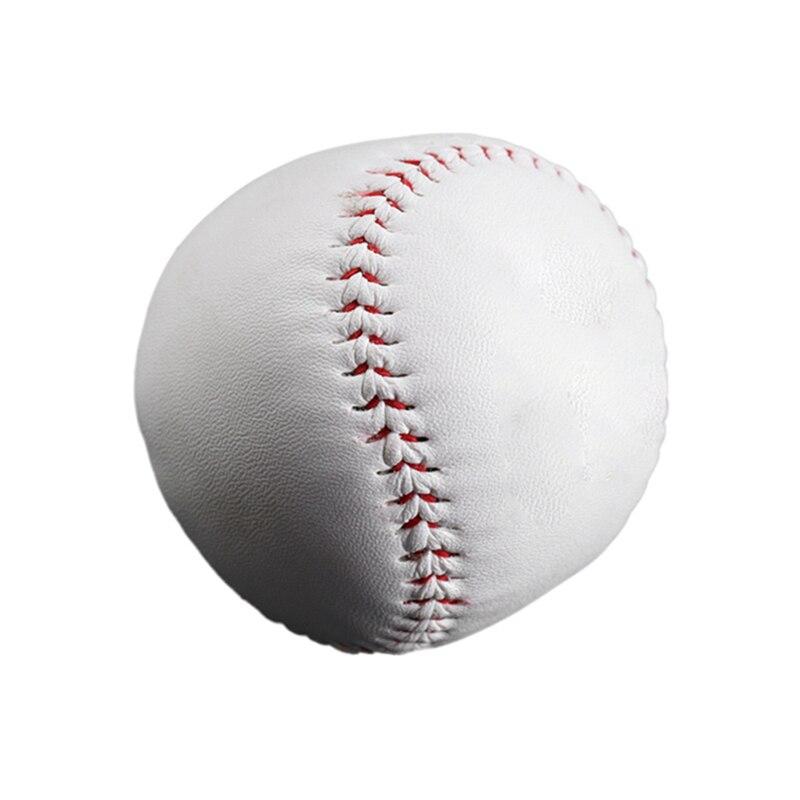 9 Inch Handmade Baseballs Pvc Upper Rubber Inner Soft Baseball Balls Softball Ball Training Exercise Baseball Balls