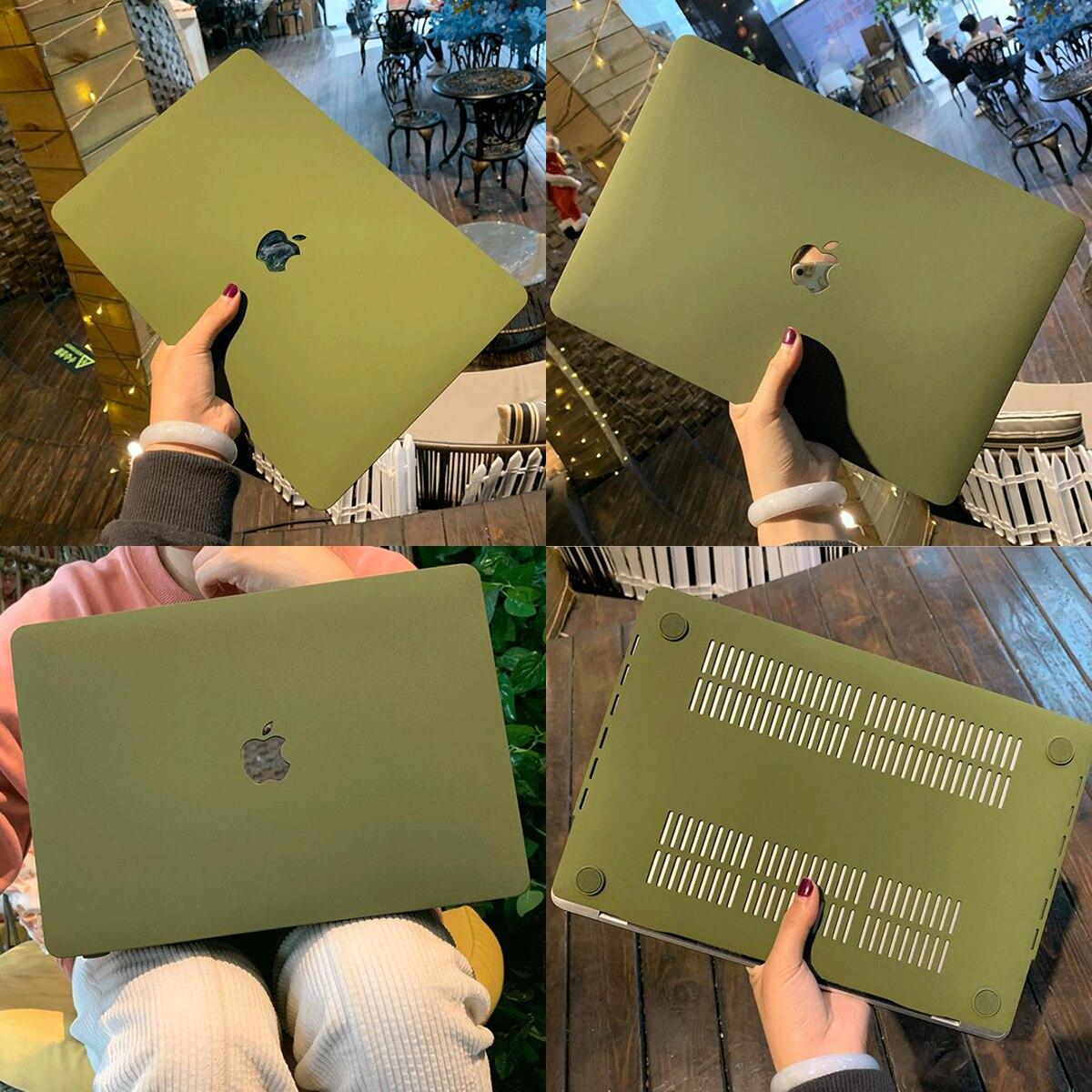 Чехол для ноутбука Apple Macbook Air Pro Retina 11 12 13 15 и New Air 13 / Pro 13,3 Air A1932 A1466 A2289 с сенсорной панелью