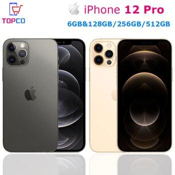 Original Apple iPhone 12 Pro 5G LTE Mobile 6.1'' 6GB&128/256/512GB IOS A14 Bionic Hexa Core Triple 12MP Face ID Cellphone 1
