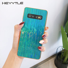 Heyytle Plating Colorful Case For Samsung Galaxy S10 S9 S8 Plus Note 9
