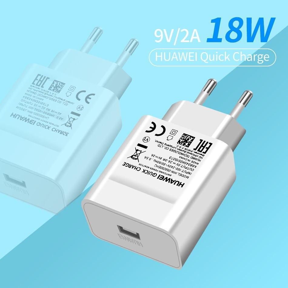 详情1Huawei Genuine Fast Charger 9V 2A QC 2.0 Quick Charge EU Adapter USB C Cable For Mate20lite p9plus honor v9 note8 nove2plus 2 3e