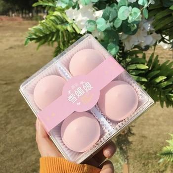 Beauty Makeup Sponge 4pcs Blender Set Wet&dry Use Makeup Puff Blending Tools For Liquid Cream Foundation 1