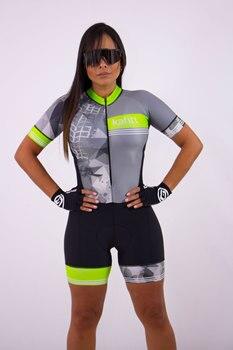 2020 kafitt triathlon feminino manga curta conjuntos de camisa ciclismo skinsuit ropa ciclismo jérsei roupas de bicicleta ir macacão verão 1