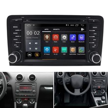Android 9.0 2Din Car DVD GPS 4G+32G Multimedia Player Bluetooth Stereo Radio For-Audi A3 8P 2003-2012 S3 2006-2012 RS3 Sportback(China)