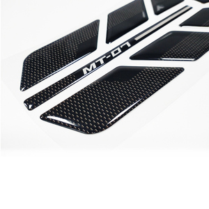 Image 3 - New Sale 3D Gel Motorcycle Fuel Tank Cap Fuel Tank Sticker Stable Decal Combination For YAMAHA MT 07 MT07 mt07