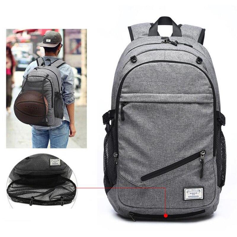 Уличные мужские спортивные сумки для спортзала, баскетбольный рюкзак, школьные сумки для подростков, сумка для футбольных мячей, сумка для ноутбука, сумка для футбольного зала-5