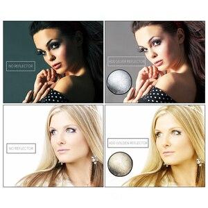 """Image 5 - SH 24 """"(60cm) 2 in 1 Rotonda Riflettore Multi Disco Diffuers Luce Con Il Sacchetto Portatile Pieghevole Argento e Oro Per fotografia In Studio"""