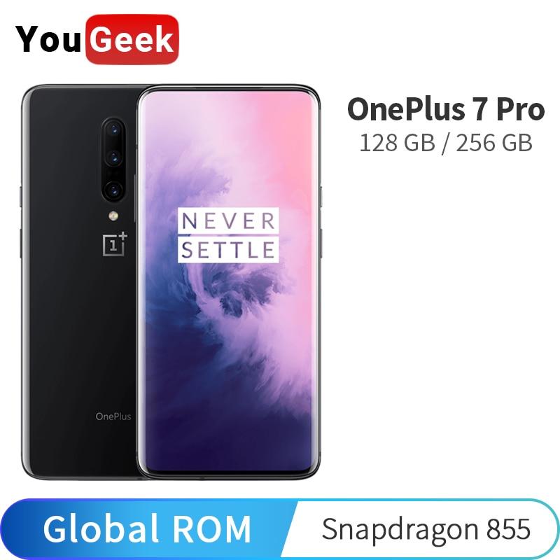 Global ROM OnePlus 7 Pro 6GB 128GB 8GB 256GB Smartphone Snapdragon 855 AMOLED Screen 48MP Triple Camera 30W Charger NFC 4000mAh|Cellphones| - AliExpress